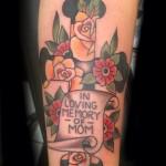Traditional Cross Tattoo